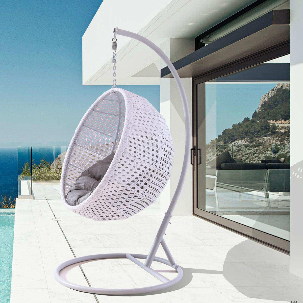 Hanging Hammock Chair Swing Chair For Terraces And Gardens
