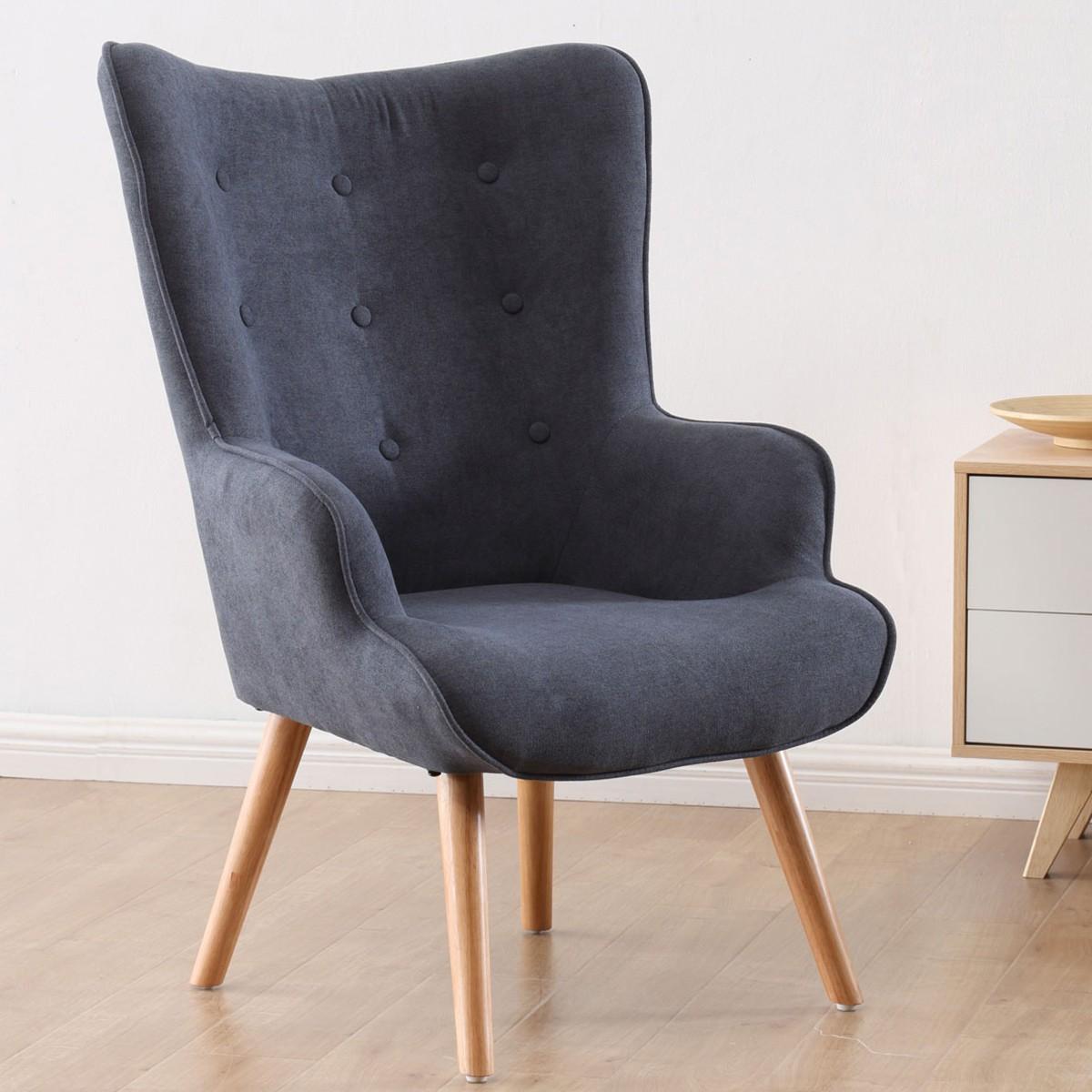 Modern design armchair.