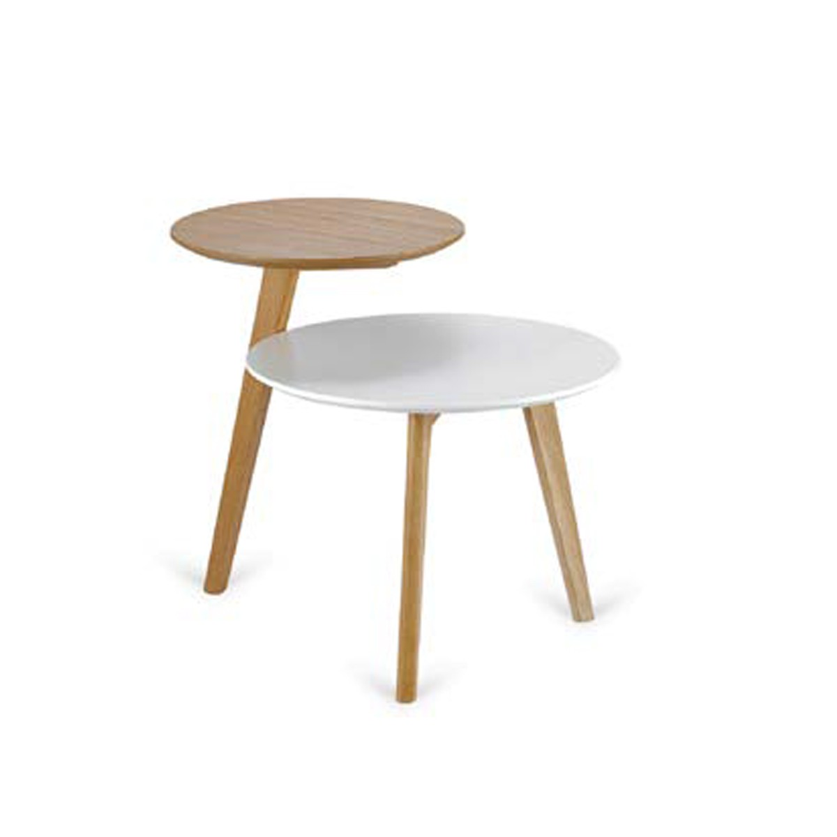 Bicolor side table
