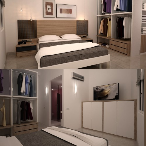 Proyectos 3D Dormitorios
