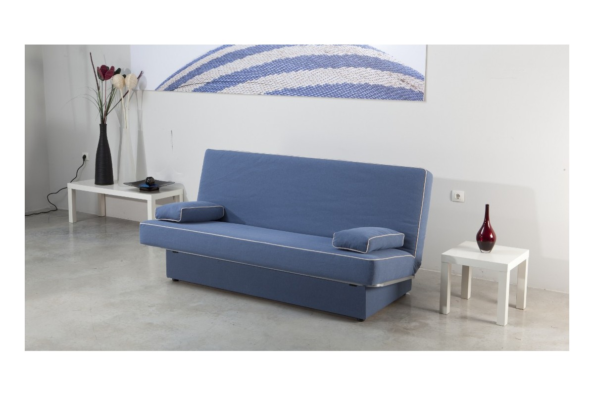 Sof cama abatible for Colchon sofa cama clic clac