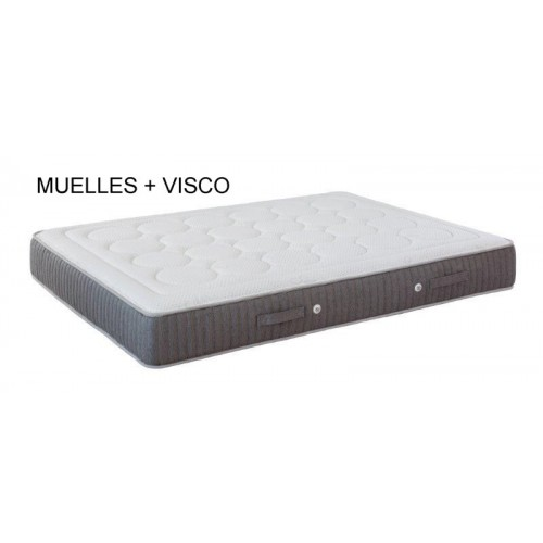 Visco + springs mattress