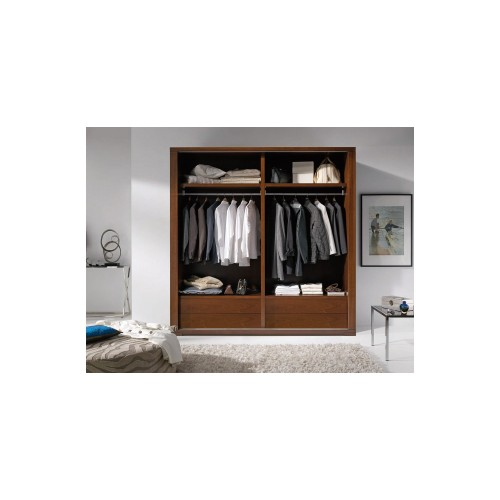 Wardrobes with sliding doors