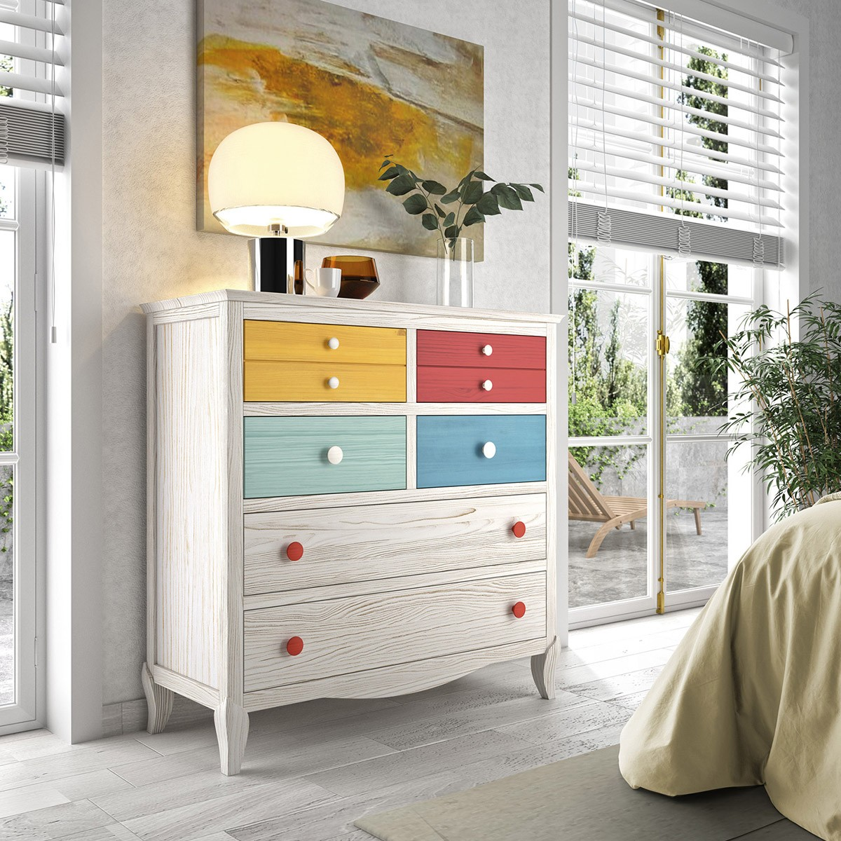 Basilea chest of drawers 30 D