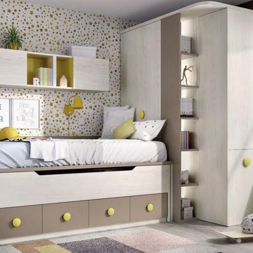 Dormitorio Juvenil RIM H102