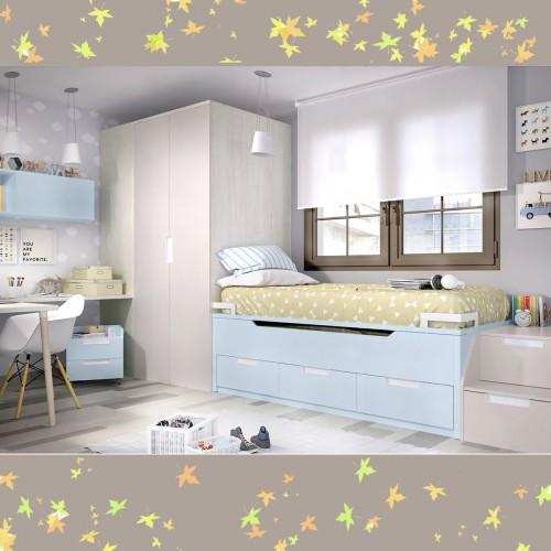 Dormitorio Juvenil RIM H120