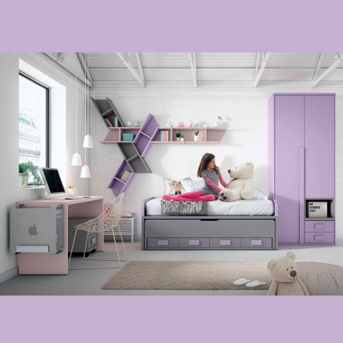 Custom Teen Trundle Bedroom