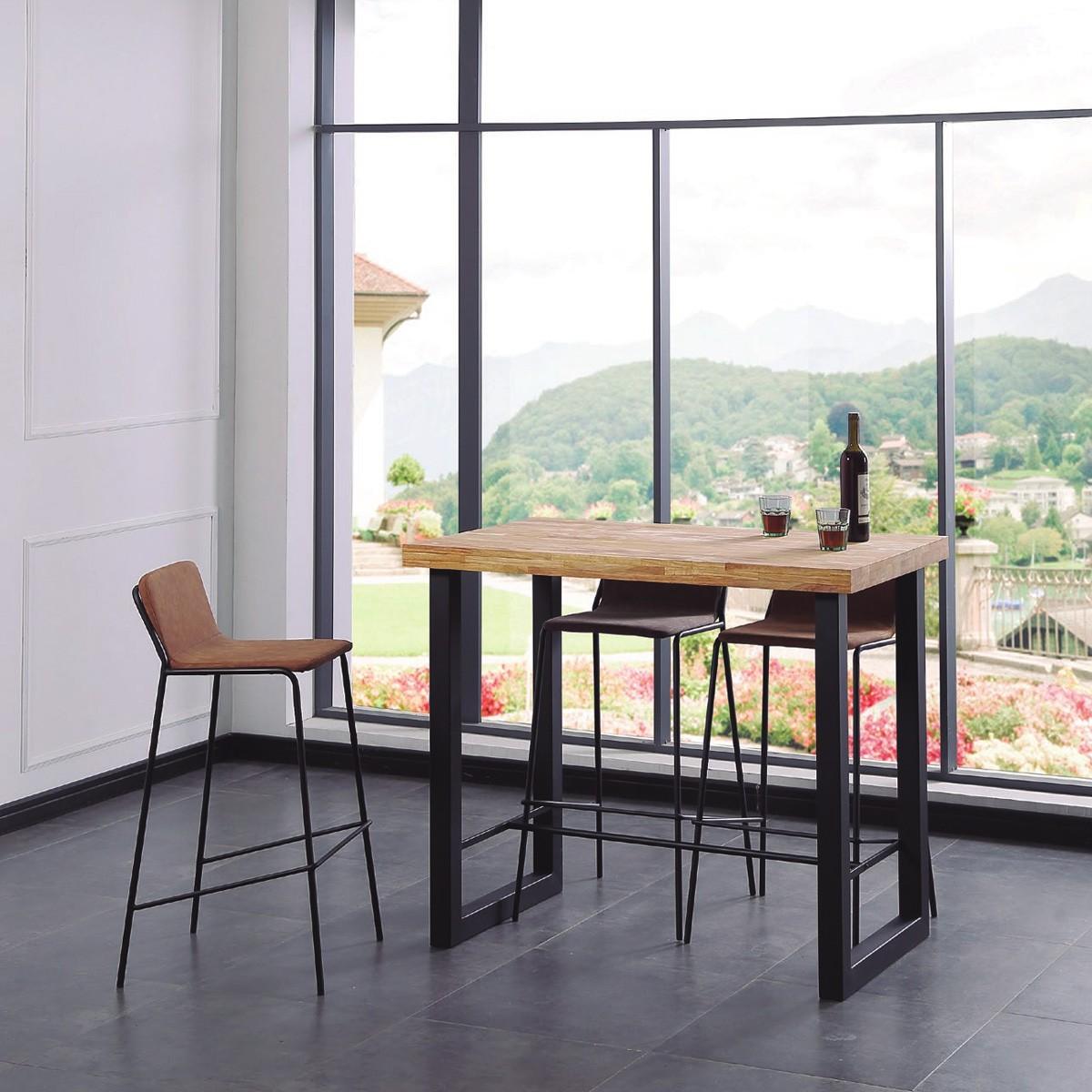 High table, bar style.