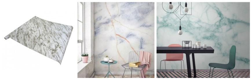 Papel de vinilo decorando habitaciones