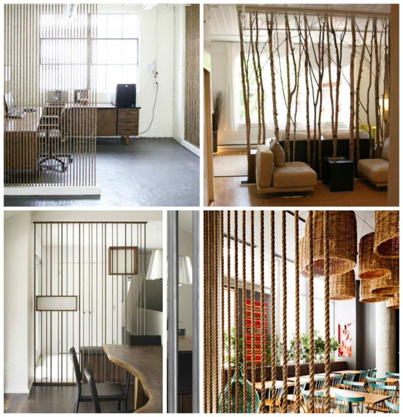 C mo separar ambientes sin paredes - Estanterias para separar ambientes ...