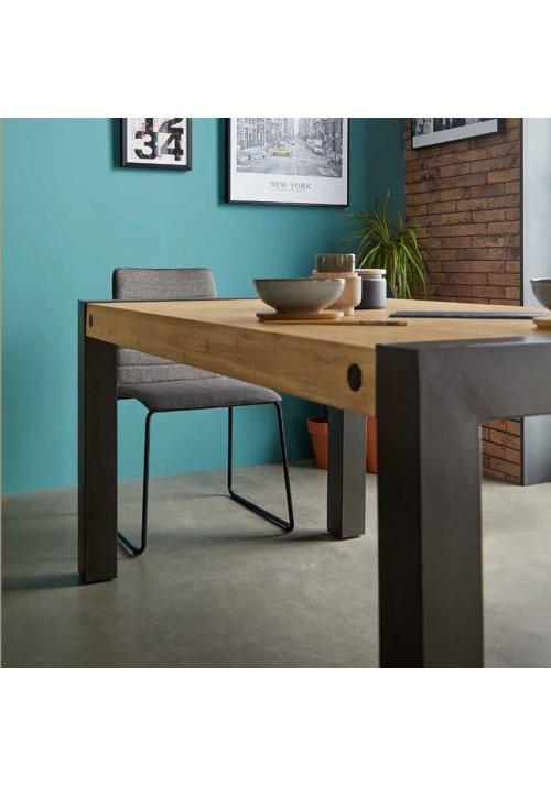 Mesa fija estilo industrial