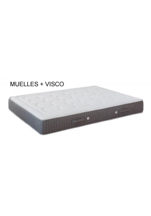 Visco + springs mattrress
