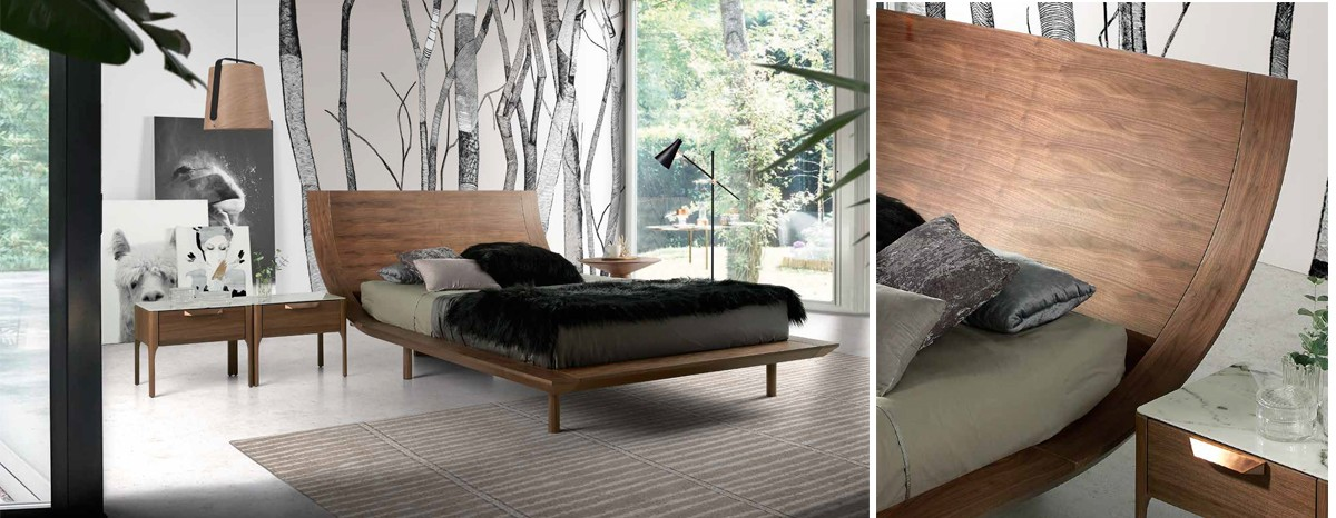 Bedrooms that evoke positive feelings