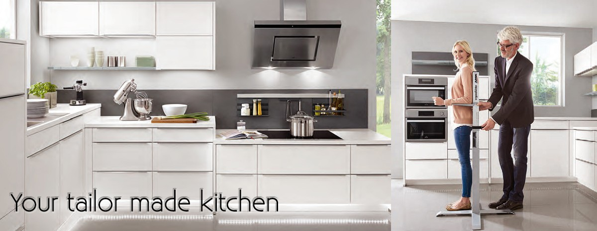 We can design your tailor made kitchen